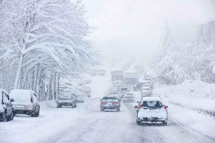Дорожные условия зимой