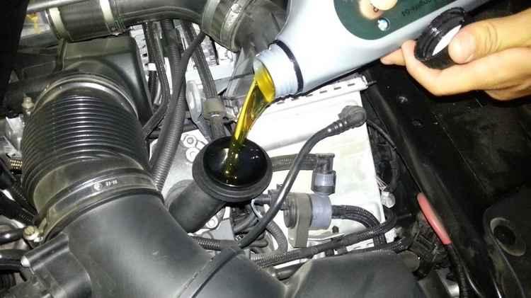 Новое масло BMW