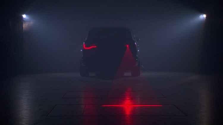 Лазерный стоп сигнал на Audi Q7