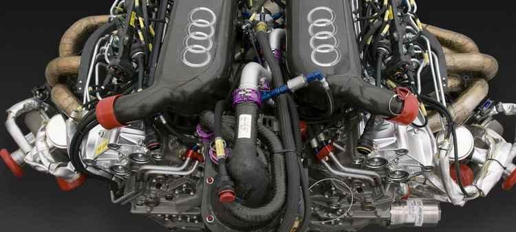 Мощный двигатель Audi