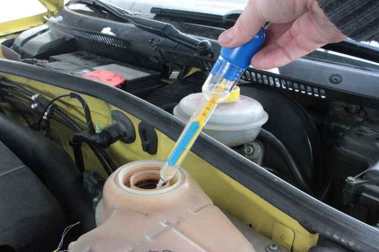 Проверка охлаждающей жидкости