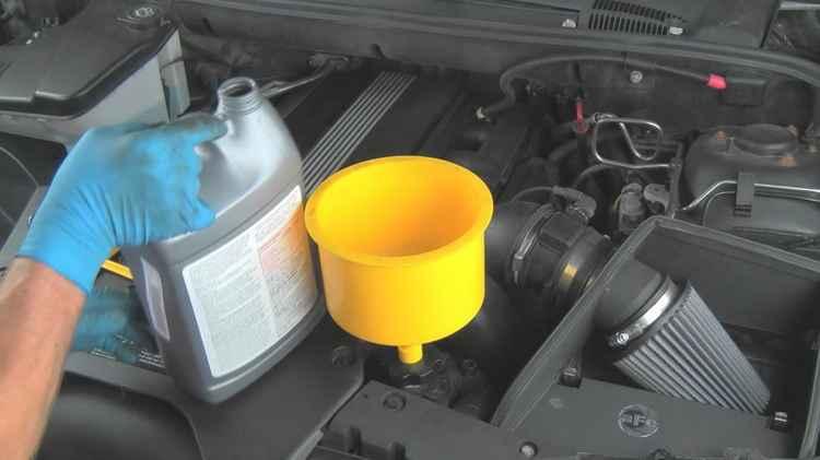 Замена охлаждающей жидкости