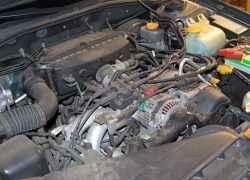 Subaru с оппозитным двигателем