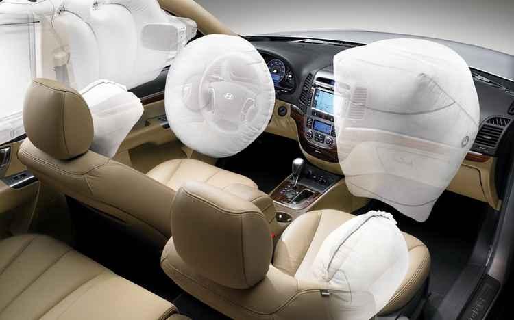 Все подушки безопасности в Hyundai Tuscon