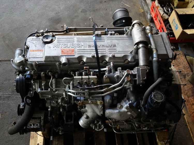 Дизельный двигатель Mitsubishi