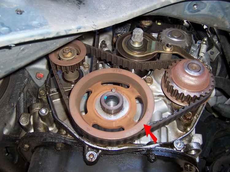 Ремень генератора авто Honda