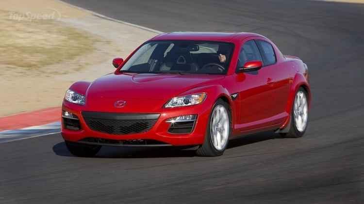 Mazda RX8 с роторно-поршневым двигателем