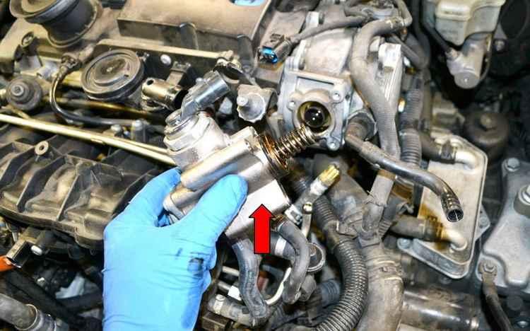 Топлвиный насос высокого давления на VW