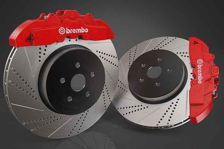 Комплект тормозов Brembo