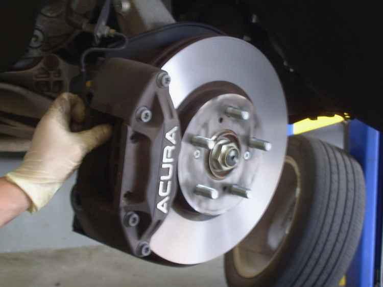Тормозные колодки Acura