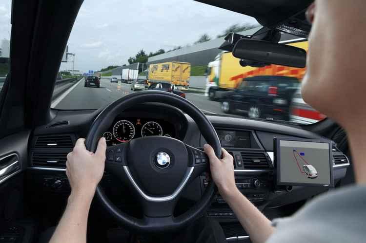 За рулем BMW