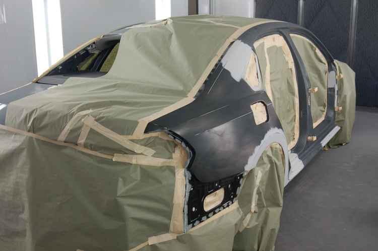 Подготовка авто перед покраской