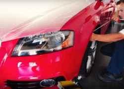 Удаление вмятин Audi