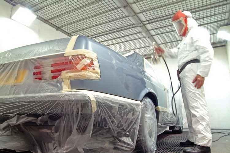Покраска Mercedes
