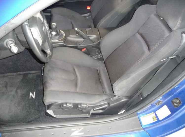 Восстановление автомобильного сиденья Nissan 350Z