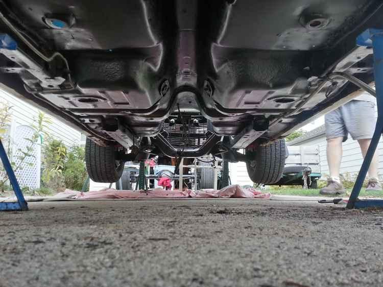 Днище Chevrolet Camaro