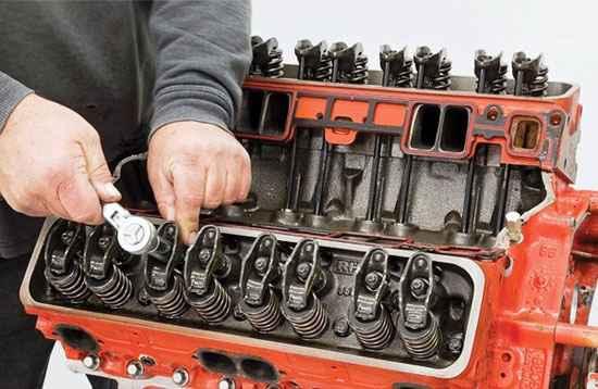 Восстановление двигателя