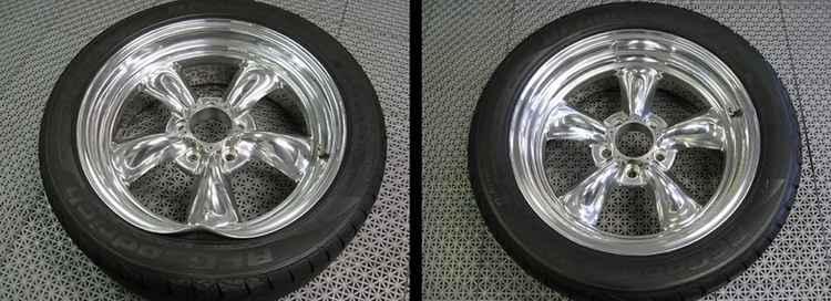 До/после восстановления дисков