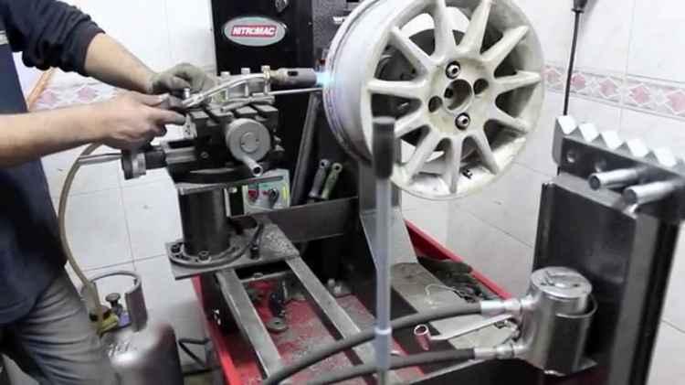 Восстановление автомобильного диска