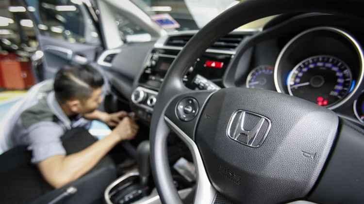 Восстановление Airbag на Honda