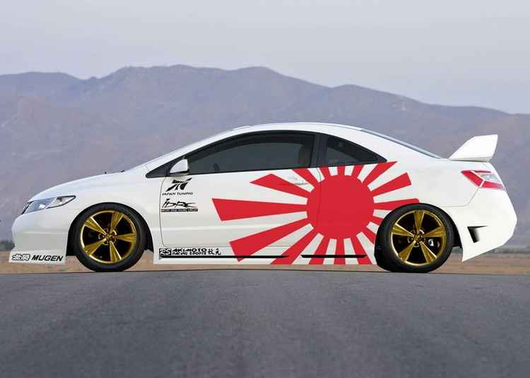 Honda Civic японский тюнинг