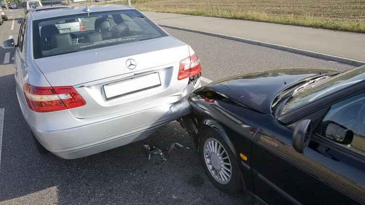 ДТП с Mercedes