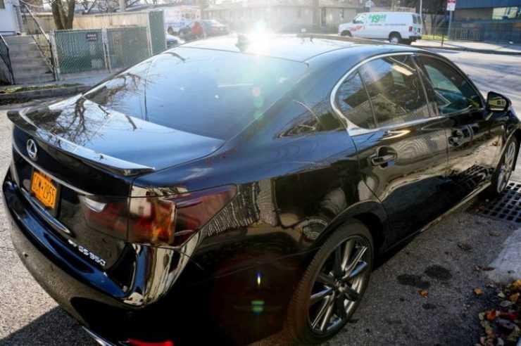 Полировка + жидкое стекло Lexus GS