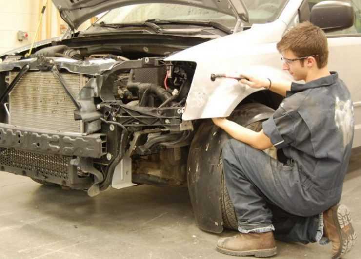 Восстановление авто