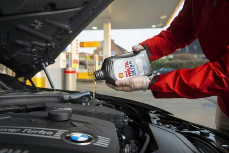 Shell Helix Ultra в BMW