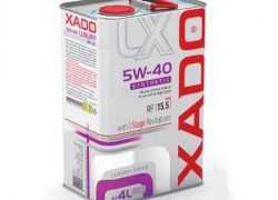 Моторное масло Xado 5W40