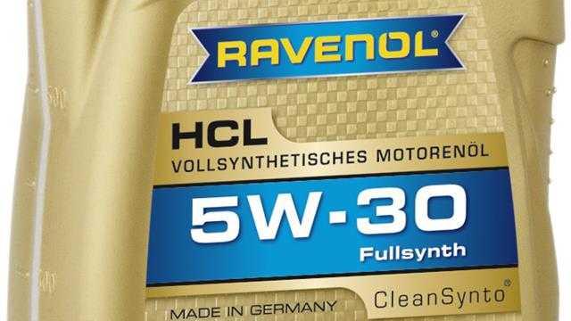 Моторное масло ravenol 5w30 отзывы
