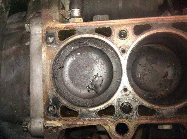 Необработанный двигатель