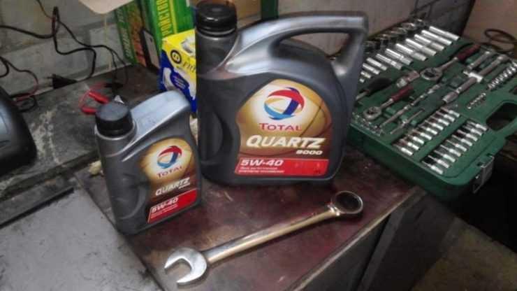 Моторное масло Тотал