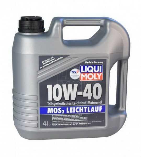 Liqui Moly SAE 10W40 полусинтетика