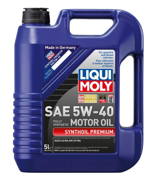 Моторное масло 5W40