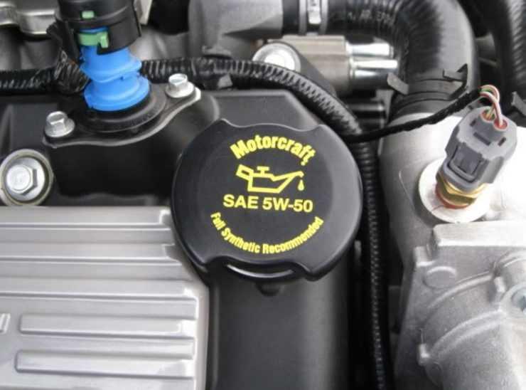 Рекомендованное масло в двигатель