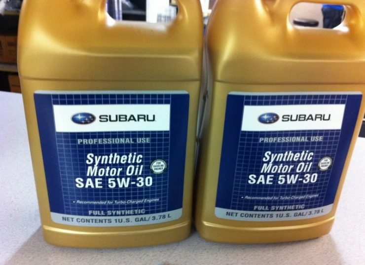 Моторное масло Subaru