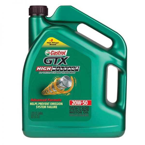 Моторное масло Castrol 20W50 синтетика