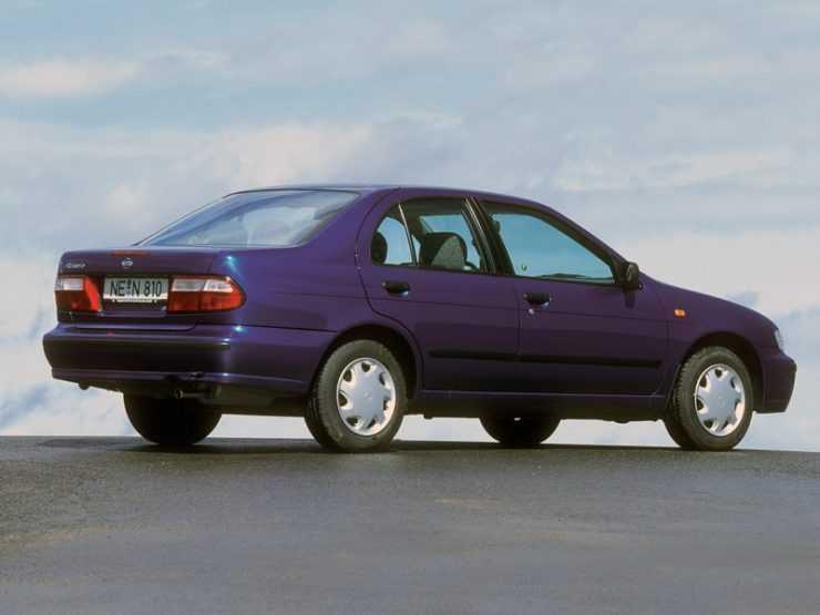 Дизайн Nissan Almera 1998