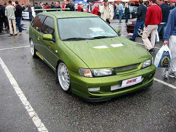 Nissan Almera N15 тюнинг
