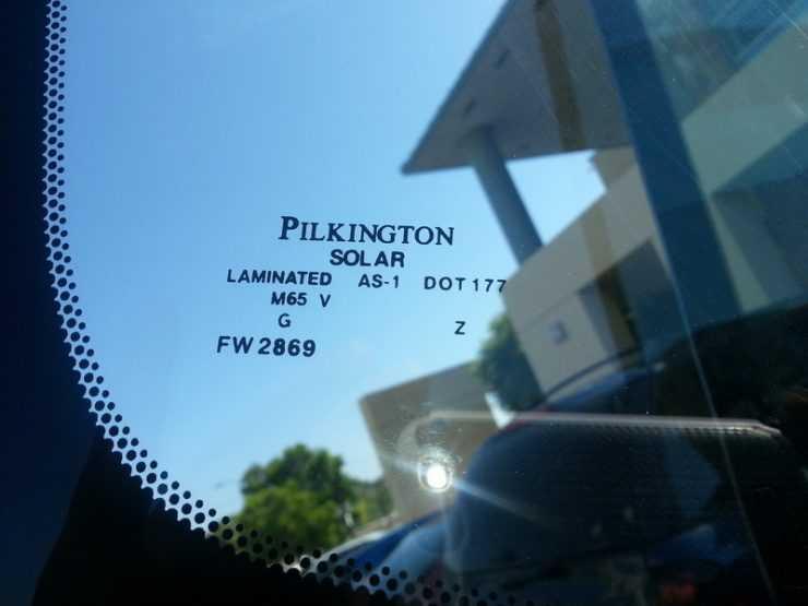 Лобовое стекло Pilkington