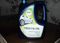Neste City масло
