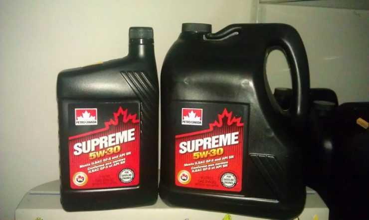 Моторное масло Petro Canada Supreme