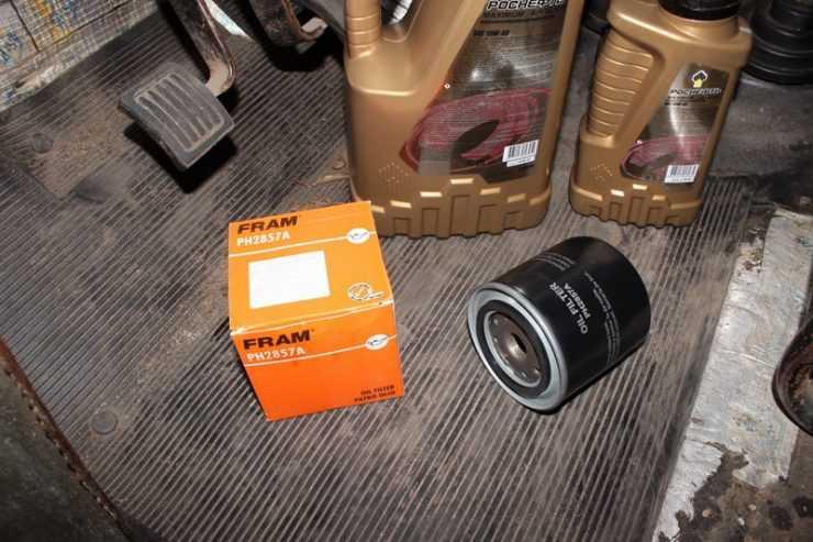 Роснефть 10W40 и масляный фильтр