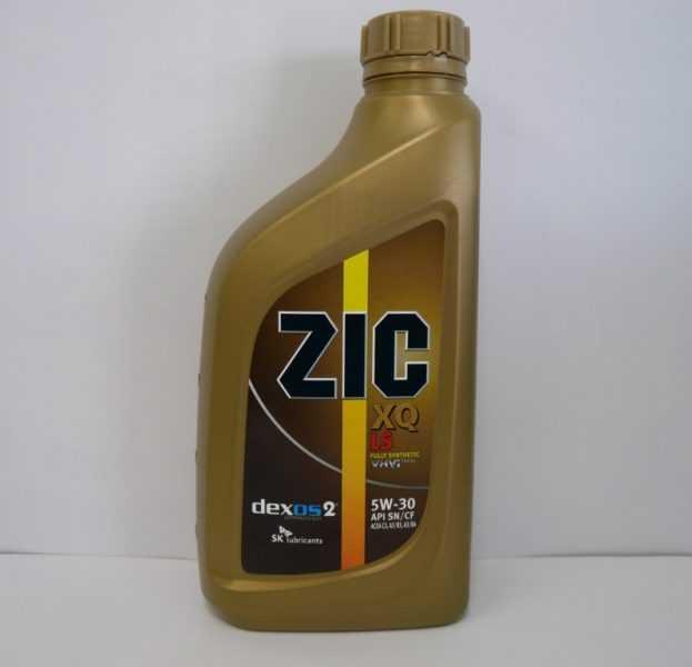 ZIC XQ 5W30