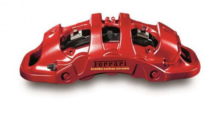 Тормоза Brembo для Ferrari