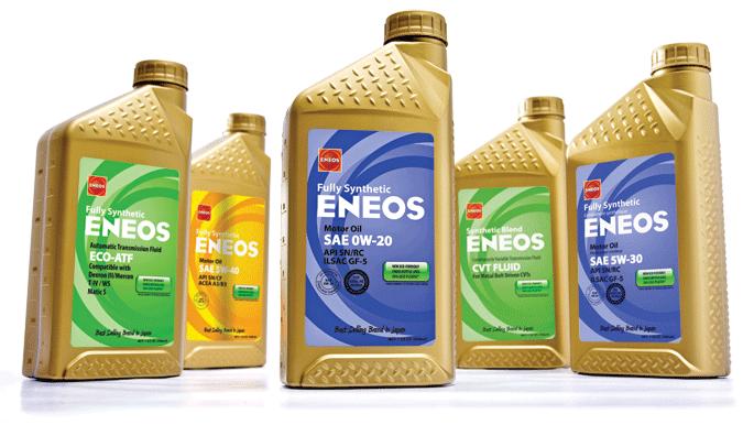 Линейка моторных масел Eneos