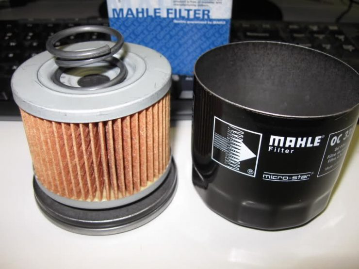 Масляный фильтр Mahle