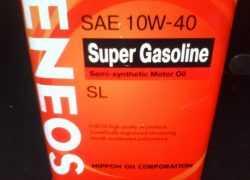 Моторное масло Eneos 10W-40