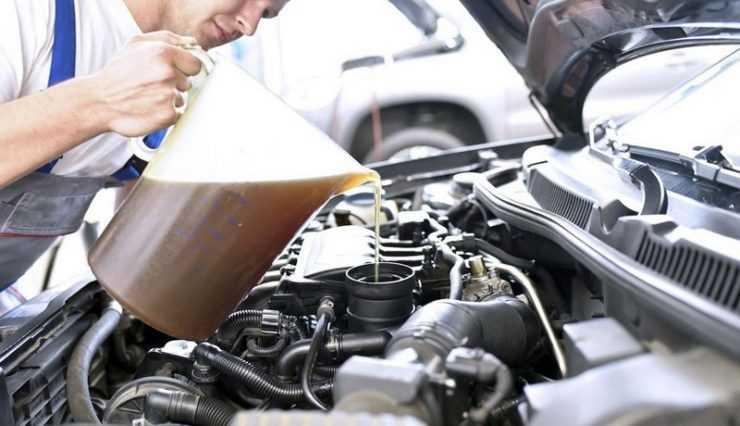 Новое моторное масло